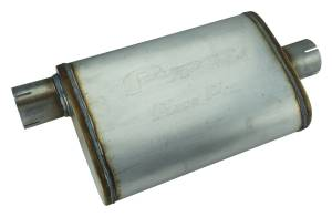 "Race Pro Muffler 14"" 2.5"" off/center MVR13 - Image 1"