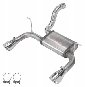 2018-2020 Jeep JL Dual Axle Back Exhaust (SJJ24S) - Image 1