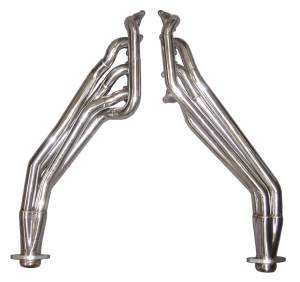 2011-14 Mustang Long Tube Headers w/ Catted H-Pipe HDR76SK-3
