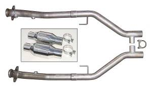05-10 Mustang H-Pipe w/ Cats HFM26