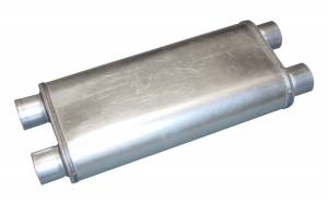 "Race Pro Muffler 20"" 2.5"" dual in/out MVR100 - Image 1"