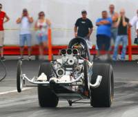 Paul Spotts - Pontiac Powered Dragster