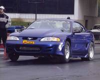 Robyn and John Geiser - 1997 Mustang